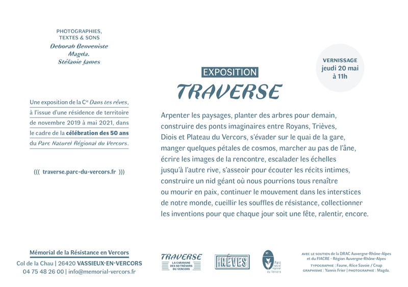 Exposition Traverse